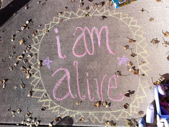 Thoughtful Friday:alive